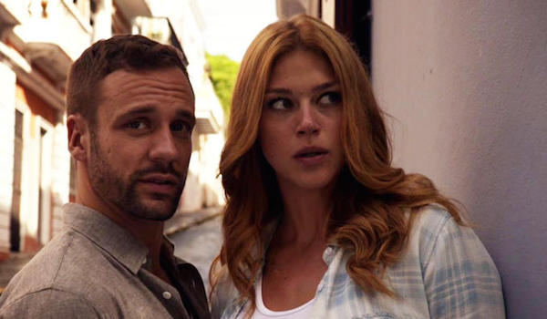 Nick Blood - Adrianne Palicki - Agentes de SHIELD