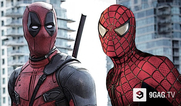 Spider-Man versión Deadpool