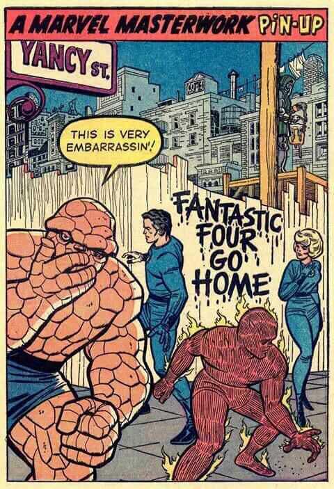 Cuatro Fantásticos vuelvan a casa