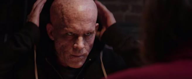 Deadpool desfigurado