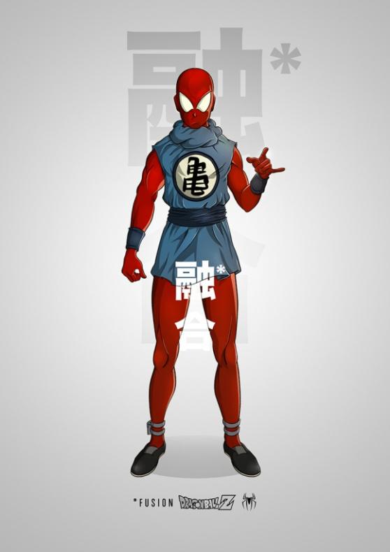 Spiderman Dragon Ball Z