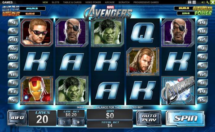 Tragaperras Marvel - Los Vengadores