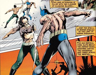 Lucha a muerte con Al Ghul