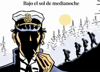 Corto Maltés bajo el sol de medianoche portada