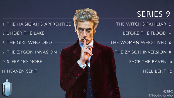 Doctor Who Nombre Episodios T9