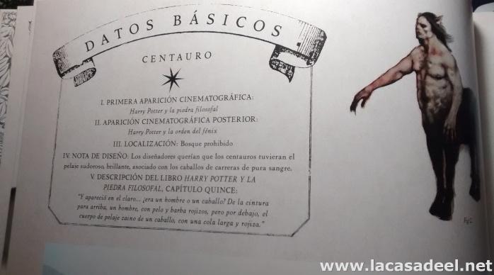 Ficha del centauro