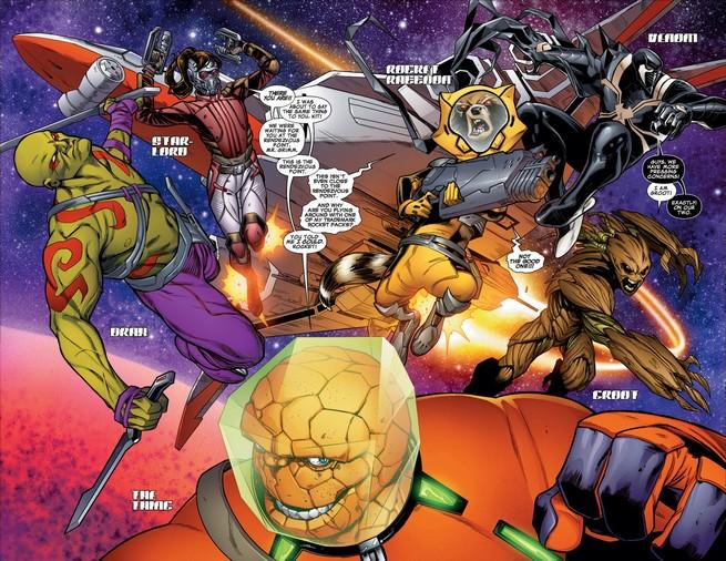 Guardianes de la Galaxia previa n1 4