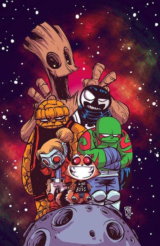 Guardianes de la Galaxia previa n1 5