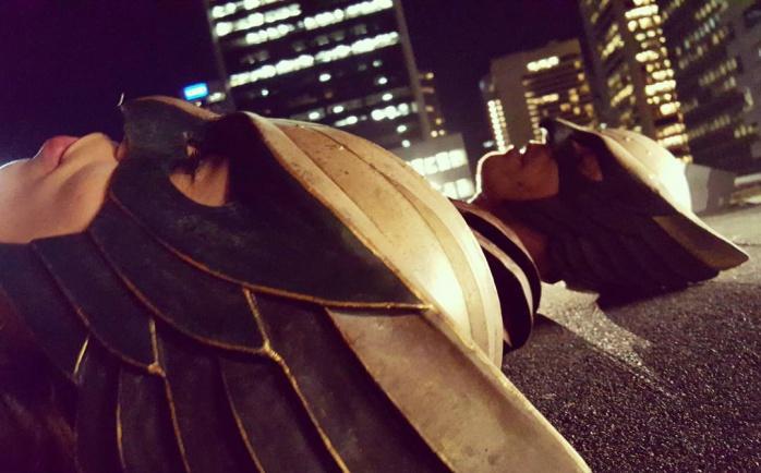 Hawkman y Hawkgirl