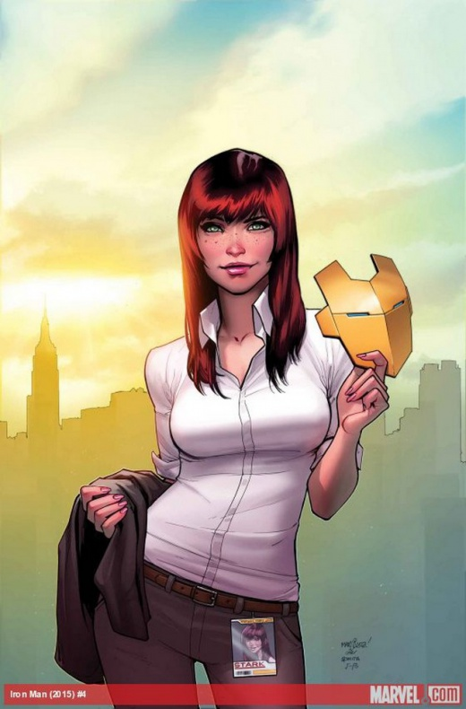 Invincible Ironman Mary Jane