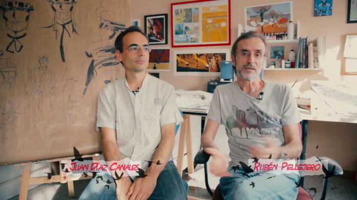 Juan Díaz Canales y Rubén Pellejero