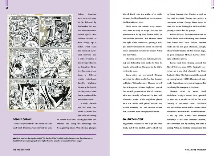 Los Vengadores Libros Cupula 1
