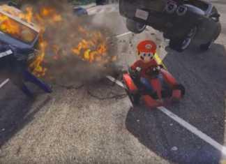 Mario GTA V