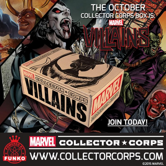Marvel Collector Corps Villains