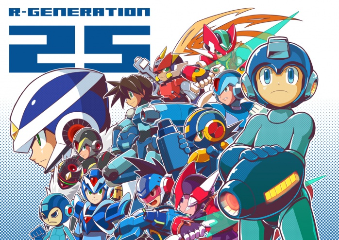 Megaman 25 Aniversario