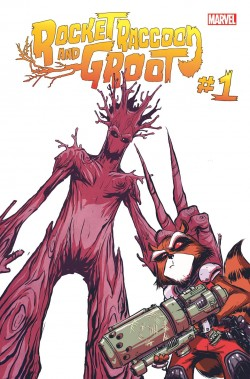 Rocket Raccoon and Groot 1 Portada