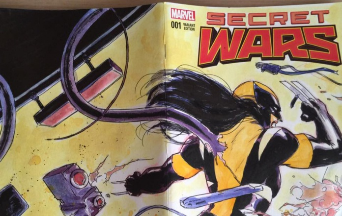 Secret Wars Milcomics