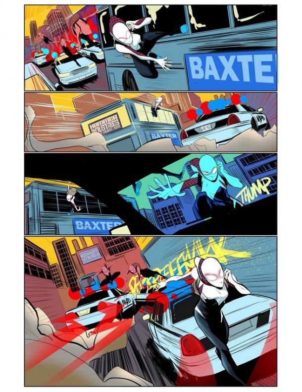 Spider-Gwen previa nº1 tras secret wars 2