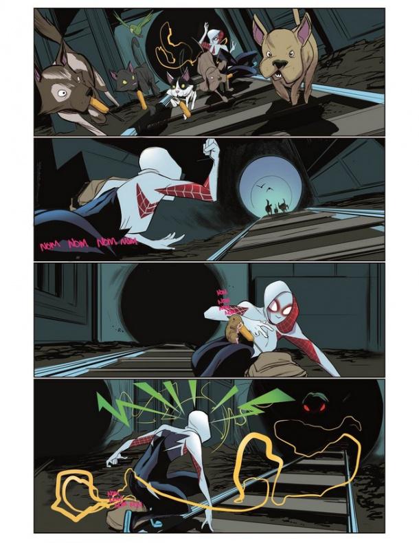 Spider-Gwen previa nº1 tras secret wars 4