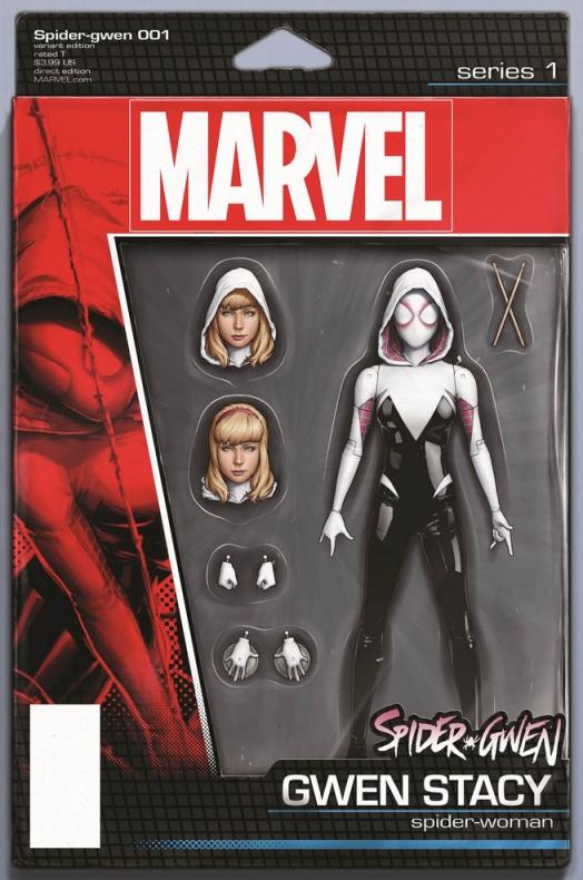Spider-Gwen previa nº1 tras secret wars 8