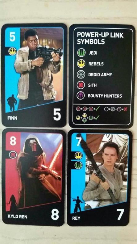 Star Wars El despertar de la Fuerza - cartas