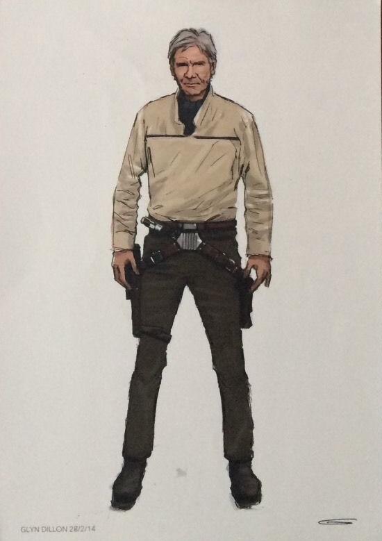 Star Wars: El despertar de la fuerza nuevo arte promocional y vídeo 01