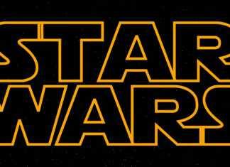 Star Wars Logo retro