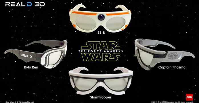 Star-Wars gafas 3D