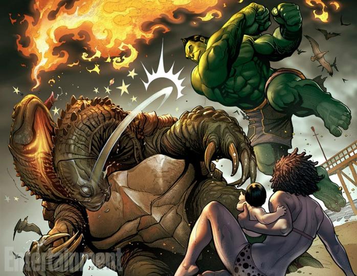 Totally Awesome Hulk página
