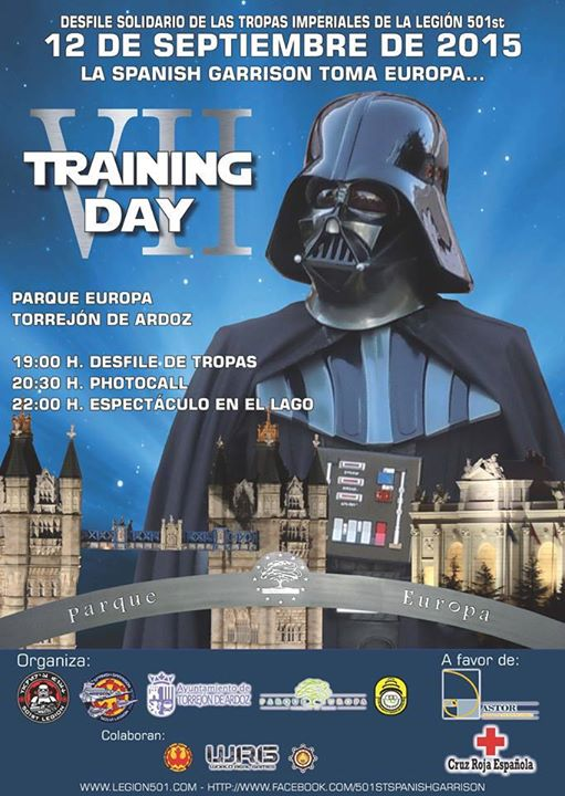 Training Day 2015 Legion 501