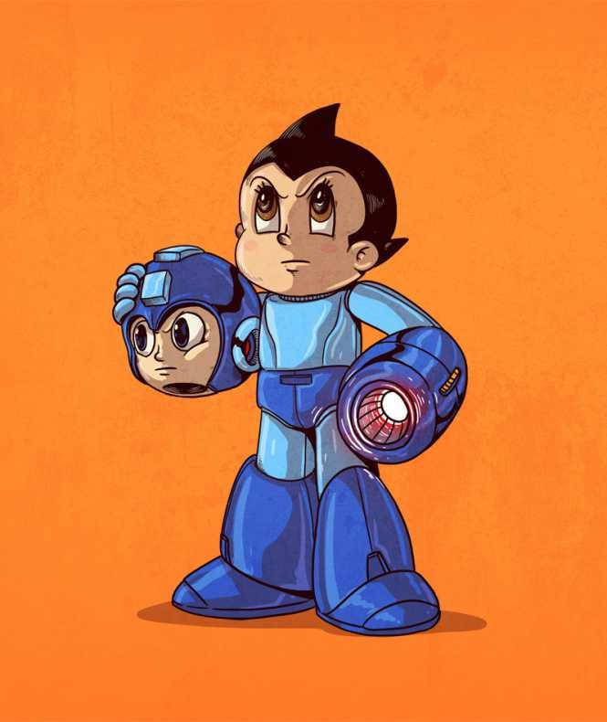 astro boy megaman