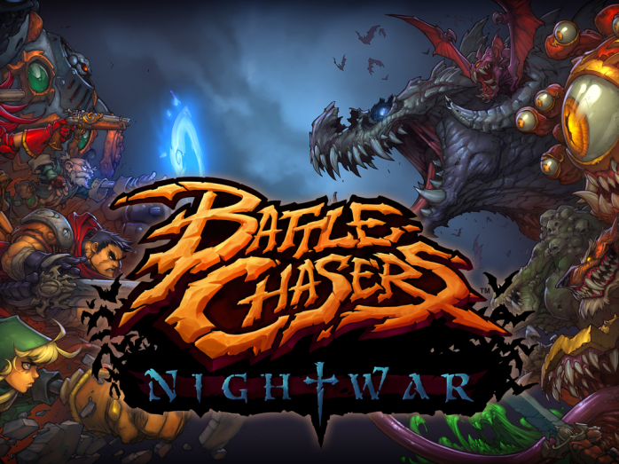 battle chasers nightwar art