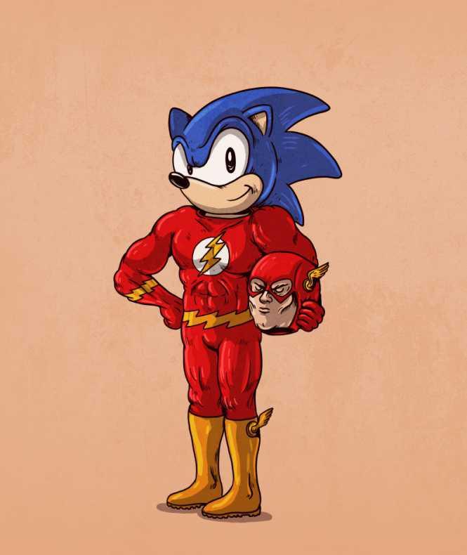 flash sonic