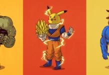 máscara pikachu goku hulk bestia