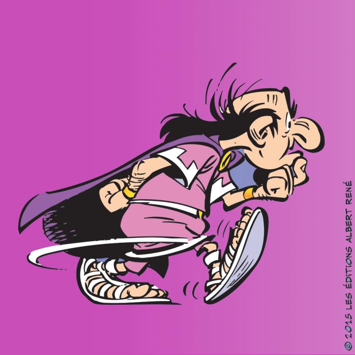 Asterix, El papiro del César