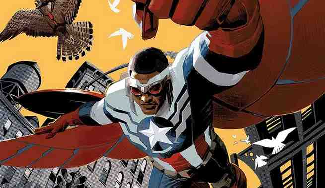 Sam Wilson, Captain America