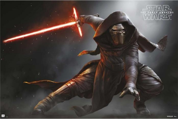 star wars vii kylo ren poster