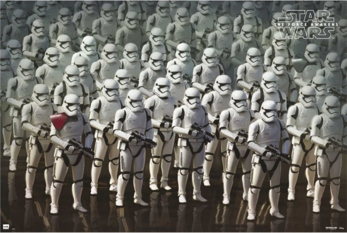 star wars vii stormtroopers poster