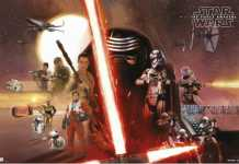 Star Wars Episodio VII - poster grupal