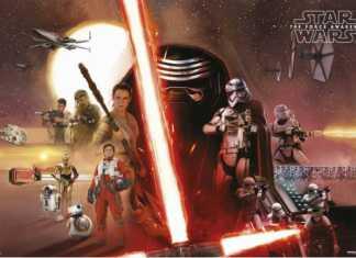 Star Wars Episodio VII - poster grupal