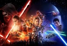 Star Wars El despertar de la Fuerza póster
