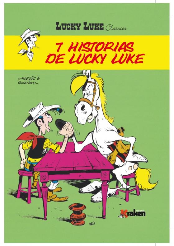 7 historias Lucky Luke