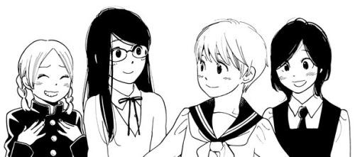 Aoi Hana vinyeta