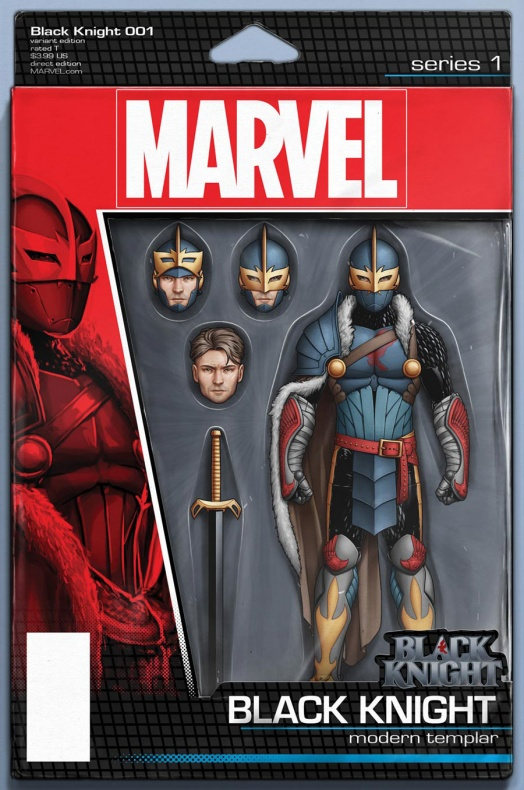 Black Knight 1 Christopher Action Figure Variant 152c2