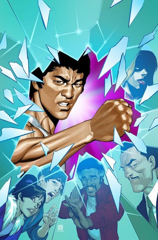 Bruce Lee The Dragon Rises Portada