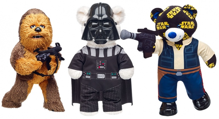 Build A Bear Star Wars