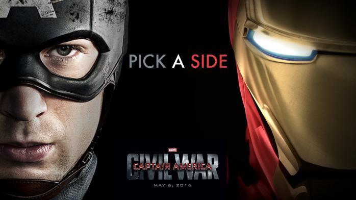Capitán América Iron Man