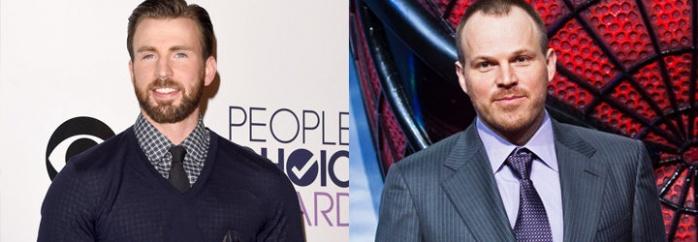 Chris Evans y Marc Webb