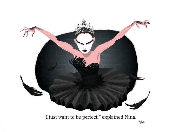 Escena Black swan