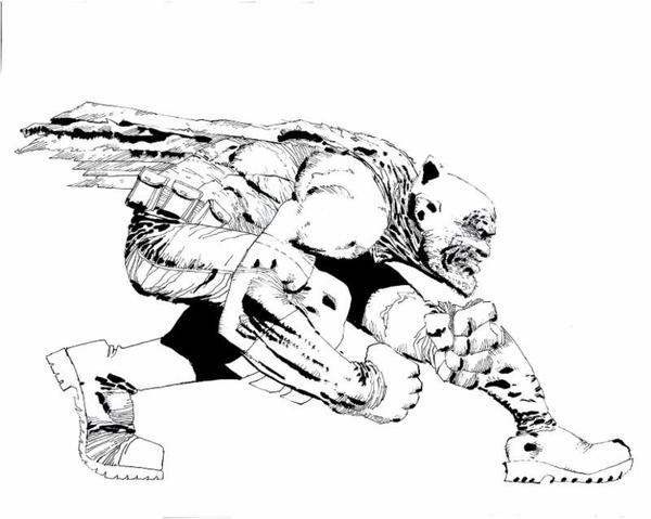 Frank Miller DK3 portada bn